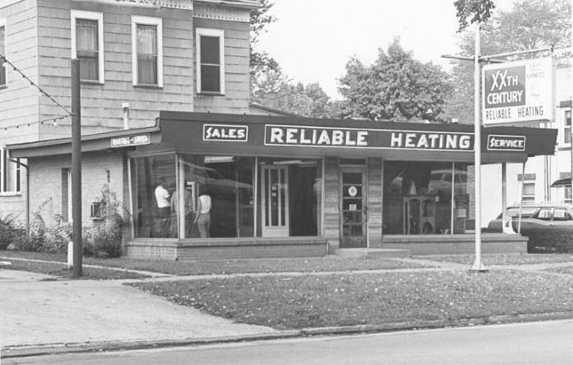 Historical Photo of Reliable Heating and Cooling Building